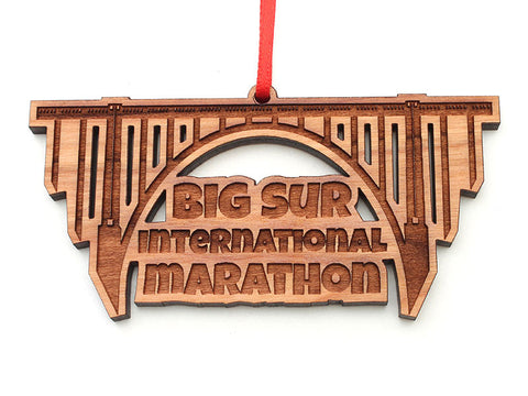 Big Sur International Marathon Bridge Ornament