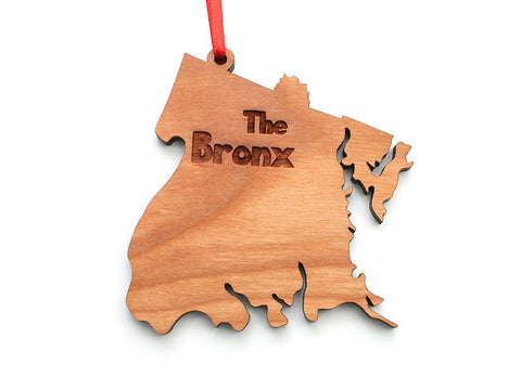 The Bronx NYC Borough Ornament - Nestled Pines