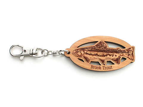 Brook Trout Key Chain - Nestled Pines