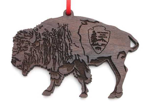 Arrowhead Store Buffalo Arrowhead Engraved Ornament