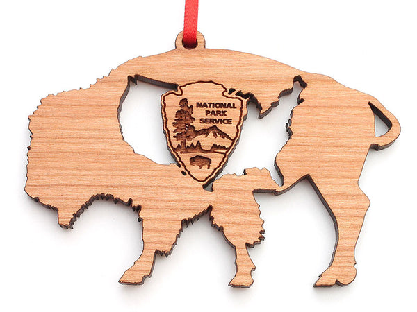 Arrowhead Store Buffalo USA Outline Arrowhead Custom Ornament