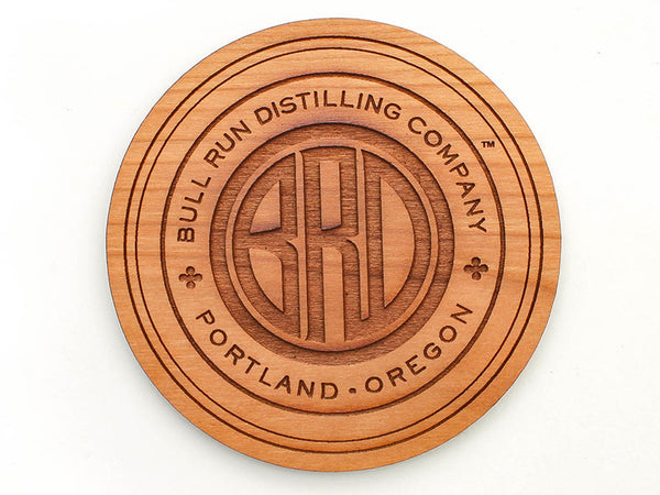 Bull Run Distillery Logo Coaster Set of 4