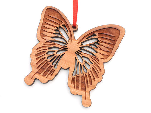 Blue Mountain Swallowtail Butterfly Ornament - Nestled Pines