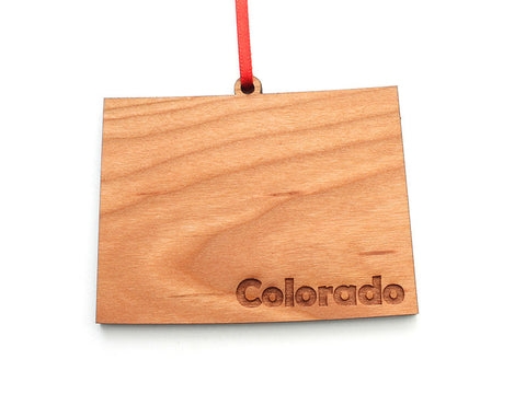 Colorado State Ornament - Nestled Pines