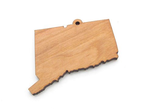 Connecticut State Ornament - Nestled Pines