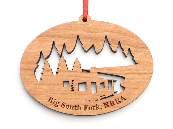 Big South Fork Cabin NW Ornament - Nestled Pines