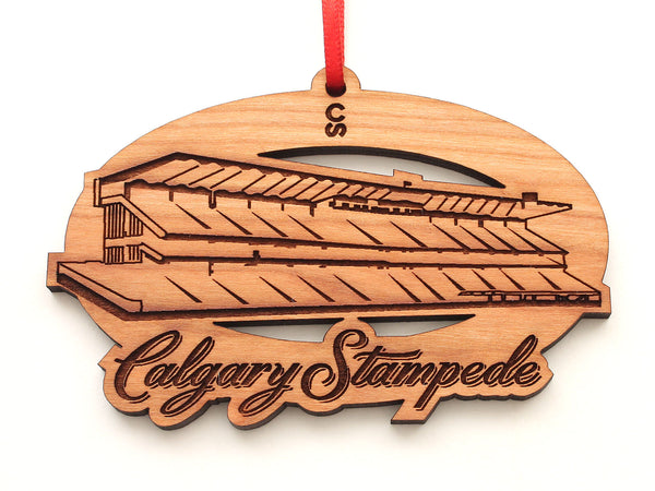 Calgary Stampede Grand Stand Oval Ornament