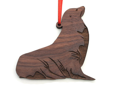 California Sea Lion Ornament - Nestled Pines