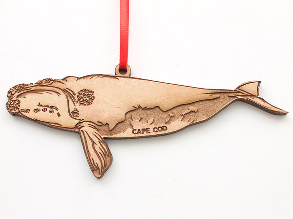 Cape Cod Right Whale Ornament
