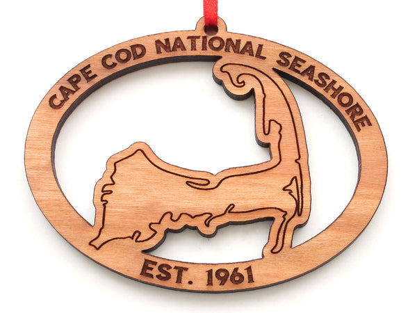 Cape Cod National Sea Shore Oval Ornament