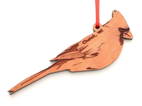 Lucky Day Cardinal Ornament ND - Nestled Pines