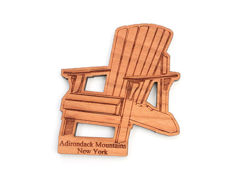 Adirondack Chair Magnet - Nestled Pines