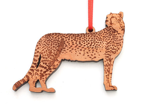 Cheetah Ornament - Nestled Pines