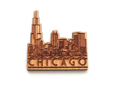 Chicago City Skyline Magnet