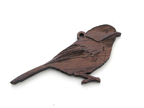 Chickadee Ornament - Nestled Pines