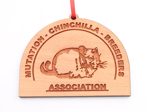 Mutation Chinchilla Breeders Association Ornament - Nestled Pines
