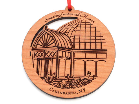 Sonnenberg Gardens and Mansion Greenhouse Circle Ornament