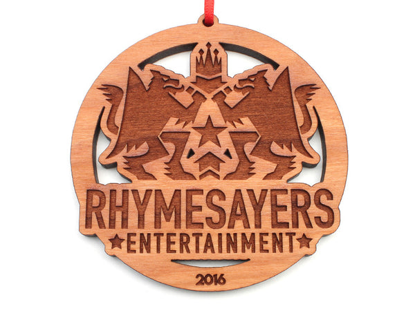 Rhymesayers Entertainment Circle Logo Ornament - Nestled Pines