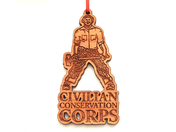 Civilian Conservation Corps Ornament