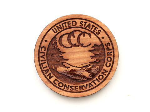 Civilian Conservation Corps Seal Magnet
