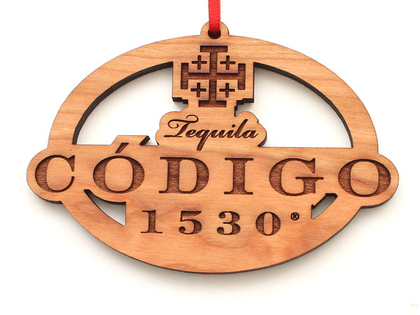 Codigo Oval Ornament
