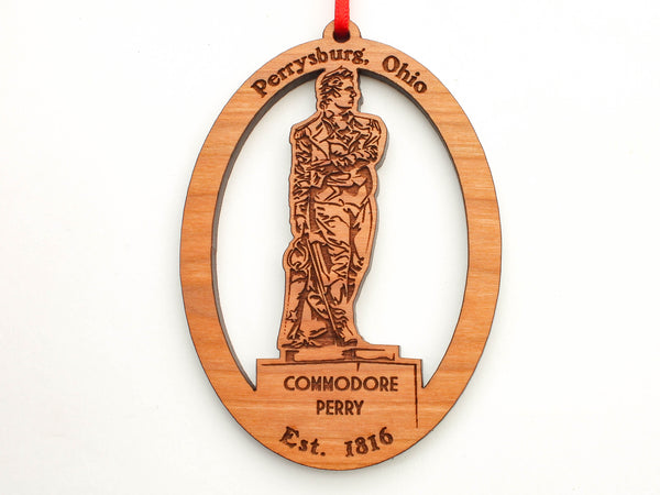 Taste of Toledo Commodore Perry Ornament