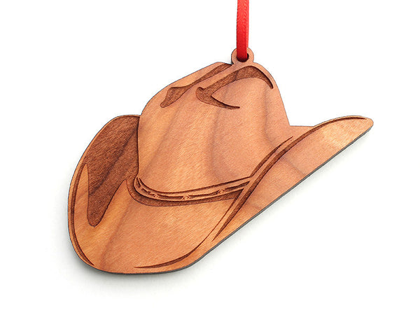 Cowboy Hat Ornament - Nestled Pines