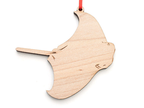 Cownose Ray Ornament - Nestled Pines