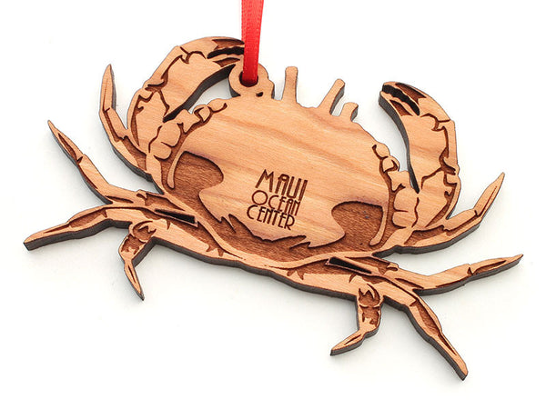 Maui Ocean Center Crab Ornament