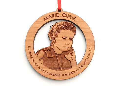 Marie Curie Ornament - Nestled Pines