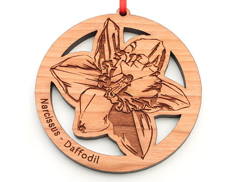 Daffodil Flower Ornament