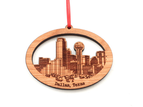 Dallas Skyline Ornament