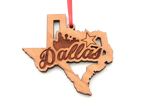 Dallas Star Marks the Spot Ornament