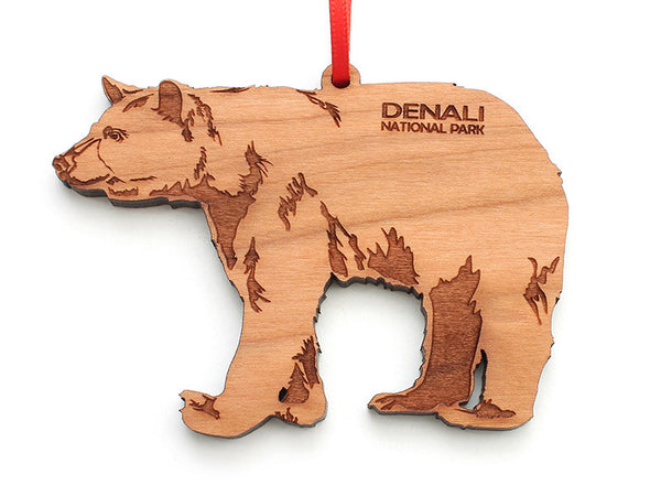 Denali Bear Ornament - Nestled Pines