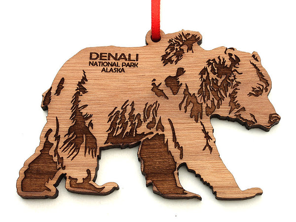 Denali Grizzly Bear Ornament