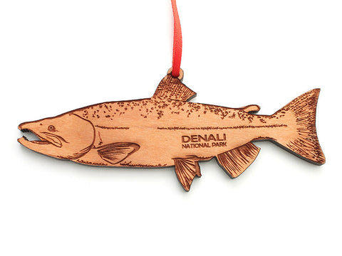 Denali Salmon Ornament - Nestled Pines