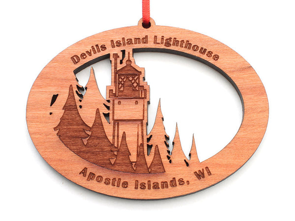 Good Earth Outfitters Devils Island Light Tower Ornament - Nestled Pines