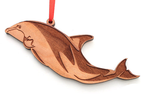 Dusky Dolphin Ornament - Nestled Pines