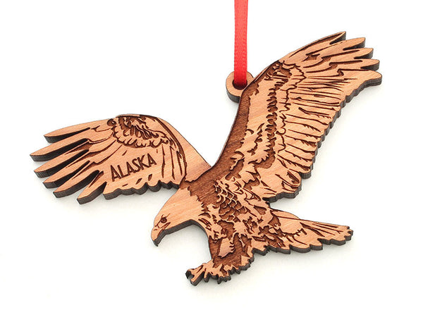 Alaska Eagle Ornament