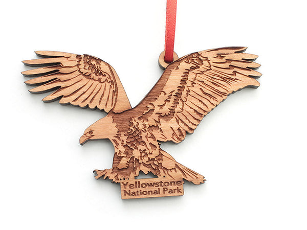 Bald Eagle Ornament ND - Nestled Pines
