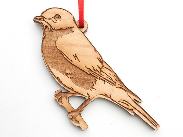 Eastern Blue Bird Ornament