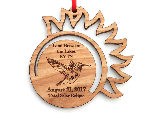 Land Between the Lakes Eclipse Hummingbird Ornament