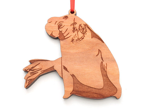 Elephant Seal Ornament - Nestled Pines