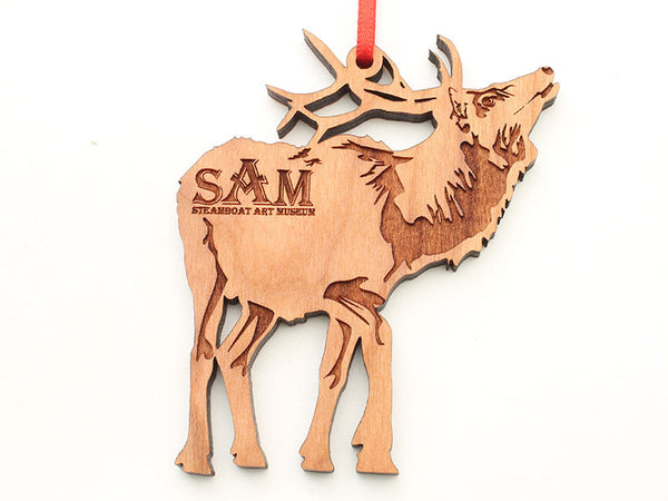 Steamboat Art Museum Elk Ornament