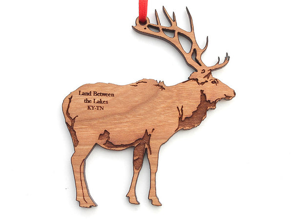 Land Between the Lakes Elk Ornament
