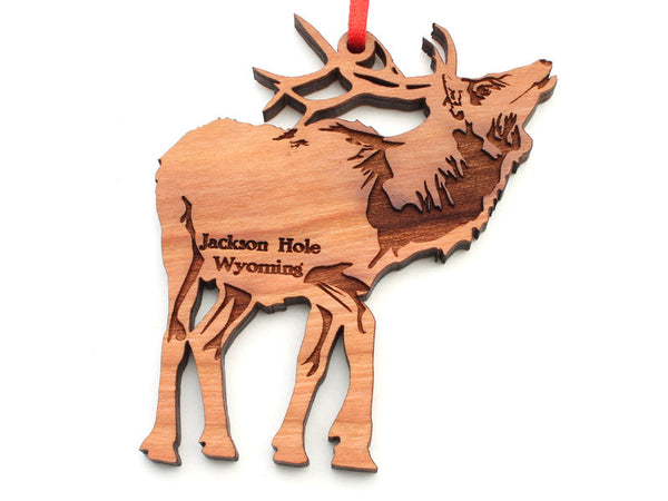Wyoming Outfitters Elk Ornament