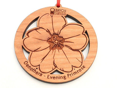 Olbrich Gardens Evening Primrose Flower Ornament