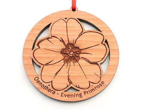 Evening Primrose Flower Ornament
