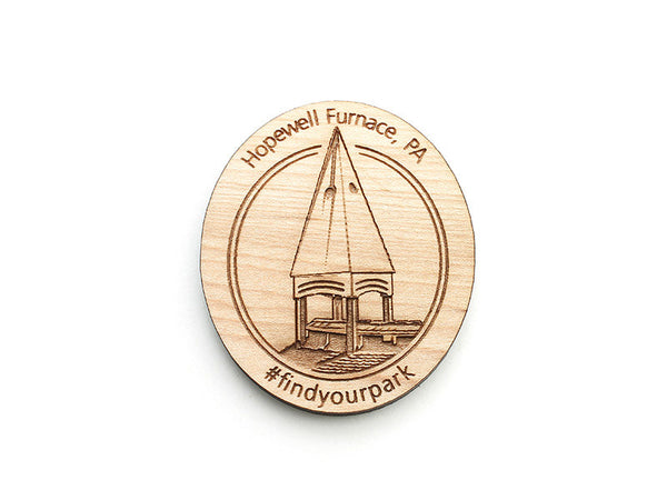 Hopewell Furnace NHS Custom Magnet #FYP - Nestled Pines