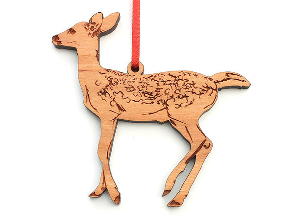 Fawn Ornament - Nestled Pines